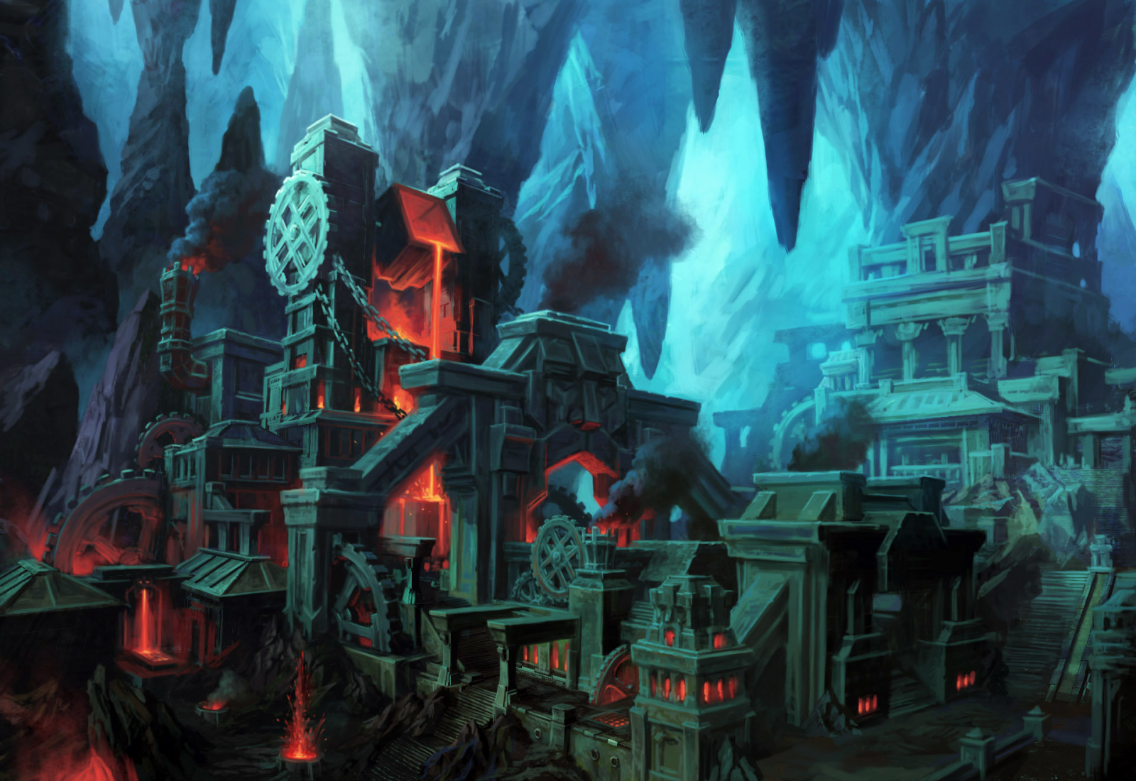 SKT 8 2 The Great Forge of Gauntlgrym Plot in Forgotten