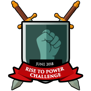 Rise to Power Masters Monthly Badge