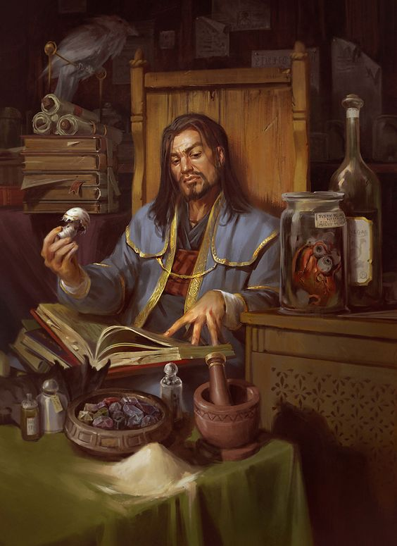 Baeleron in his study
