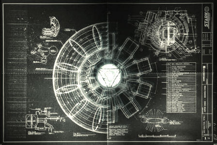 Awesome Arc Reactor Schematic ( View ...