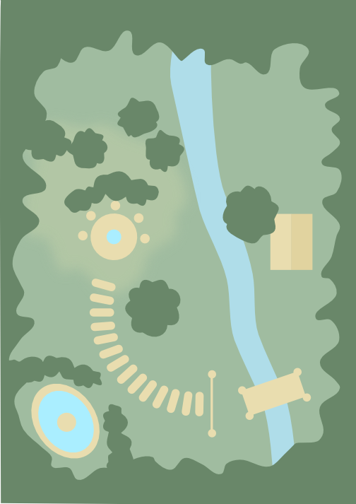 Map of the Shrine of Aralican