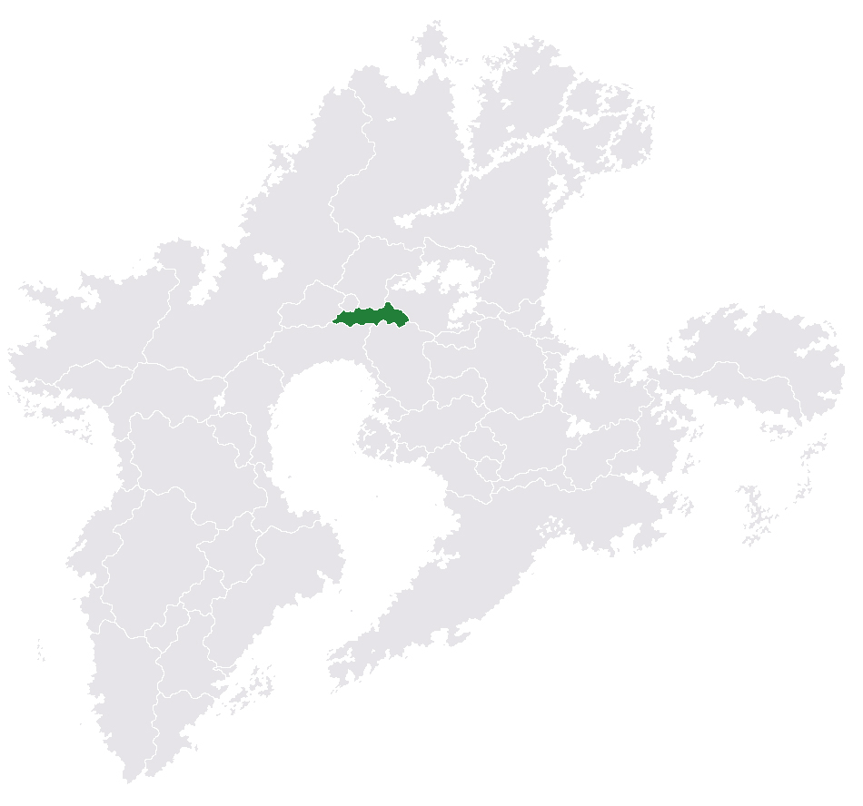 Location of Zvenor