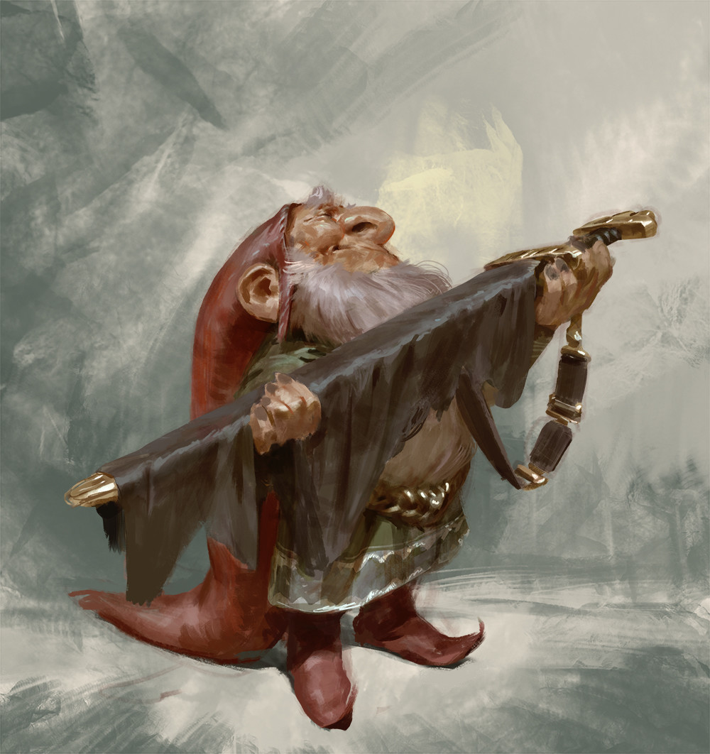 Gnome with Sword