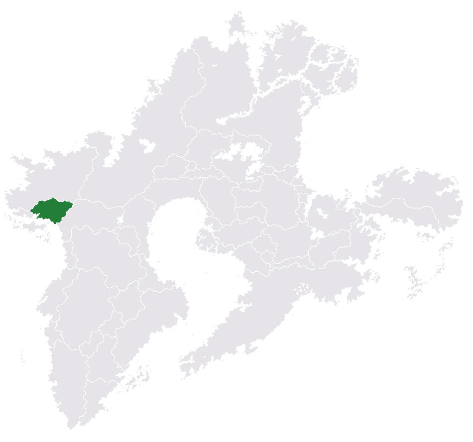 Location of Hlulane