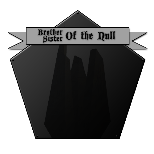 Brothers/Sisters of the Null Patron Tier (5$)
