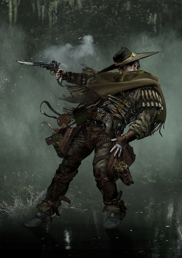 Fantasy Art Medieval Bounty Hunter