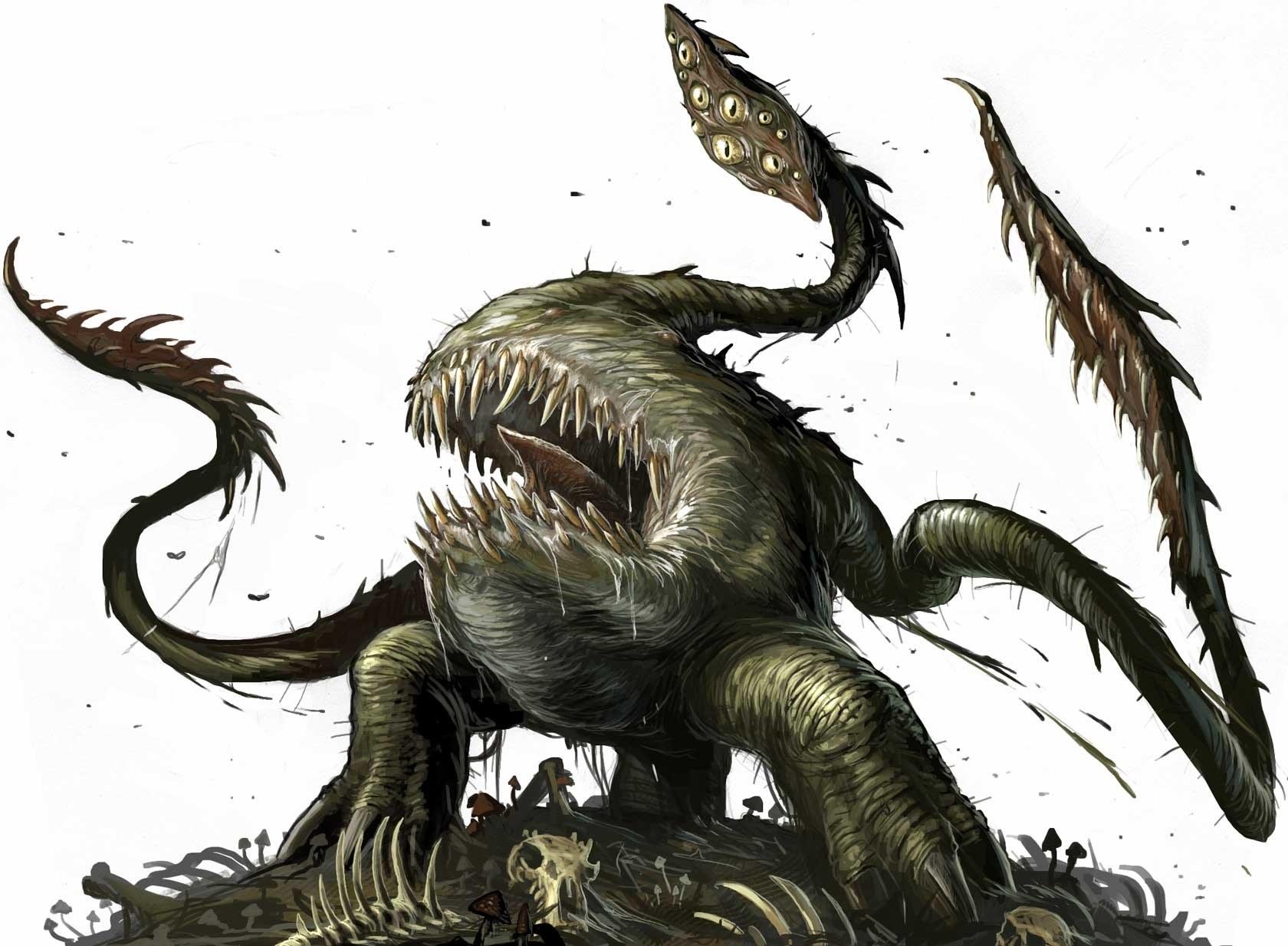 Alien monster list in La galassia dei titani | World Anvil