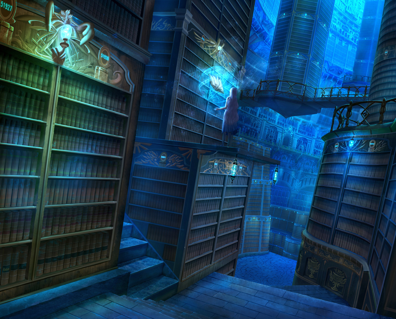 The Blue Library