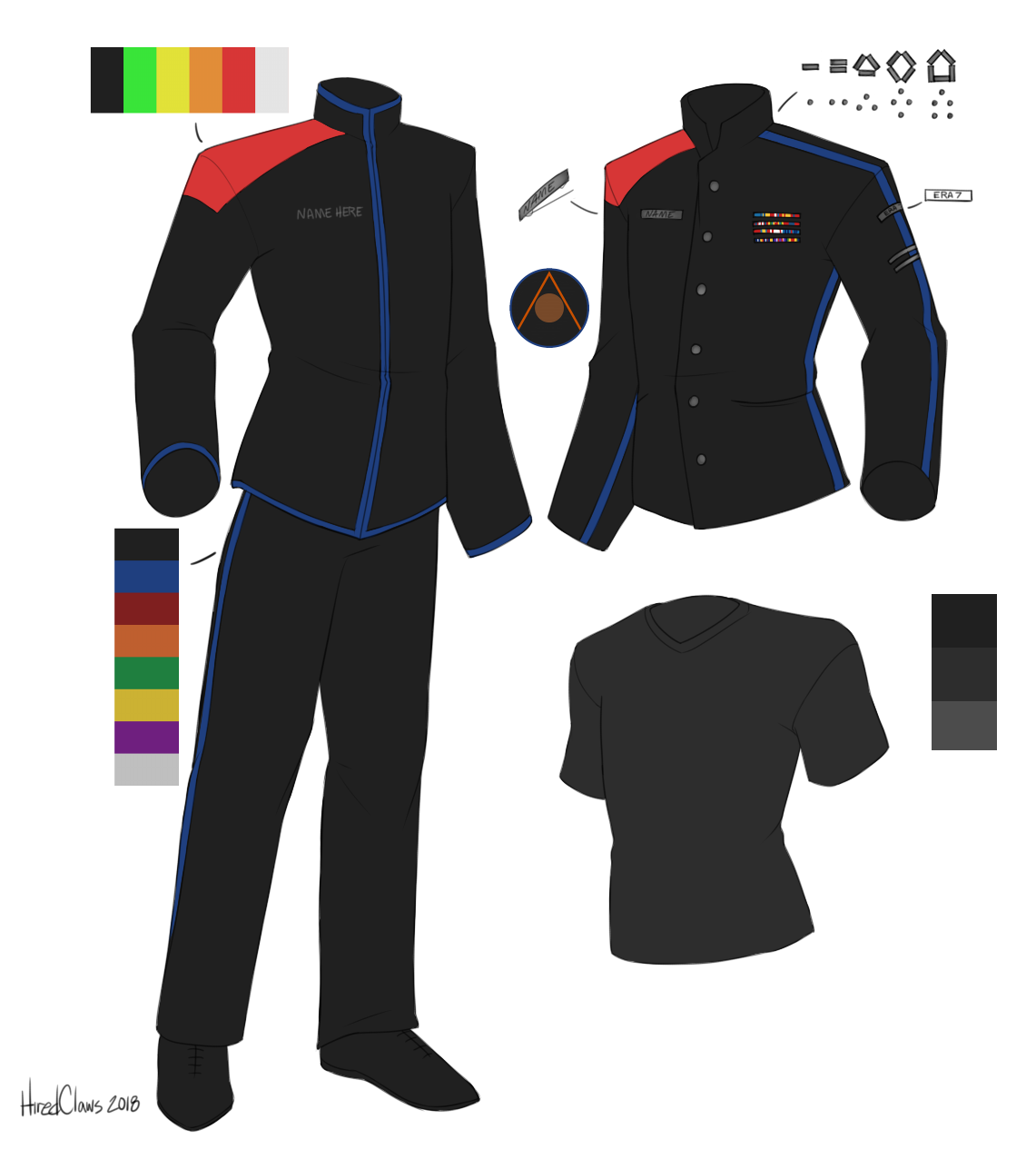 Arshan General Duty and Service Dress Uniforms