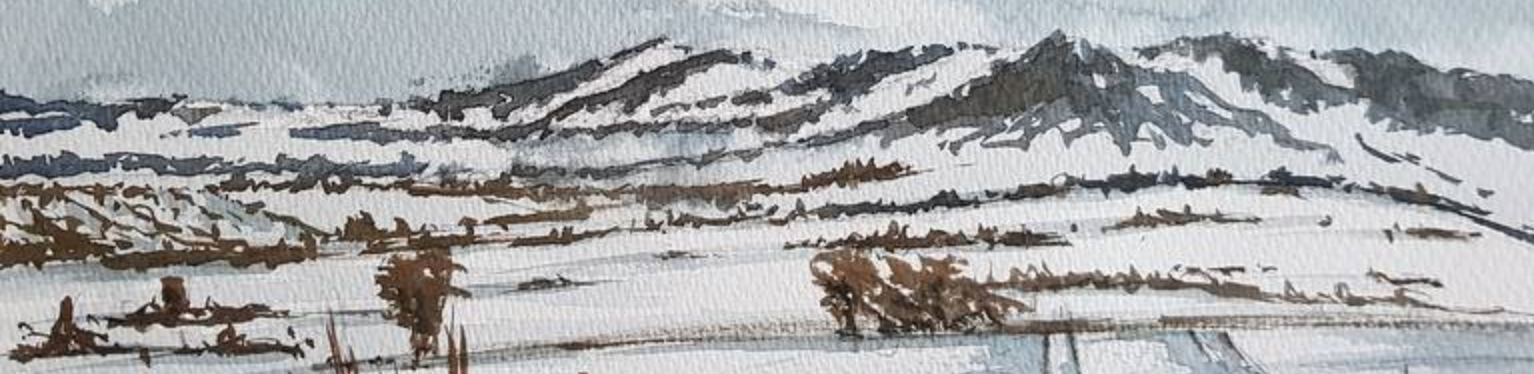 Snow Landscape of the Isles