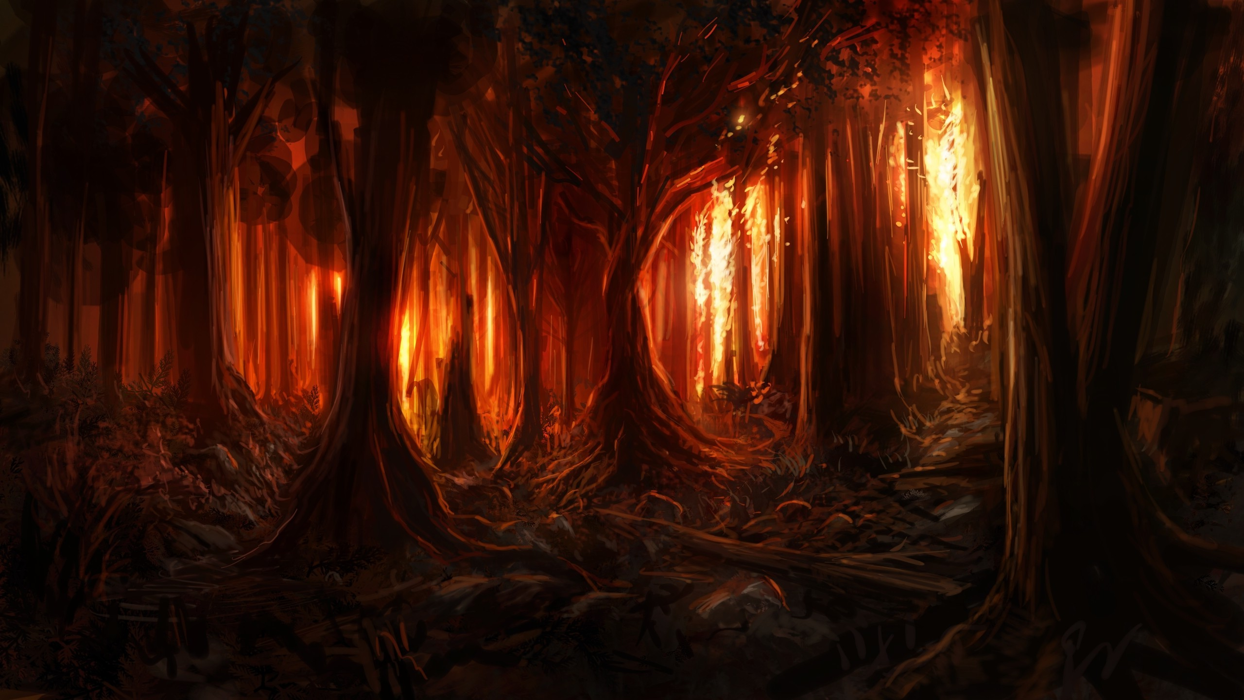 Forest Fire World Anvil