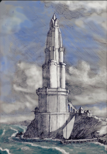 Lighthouse of Angh