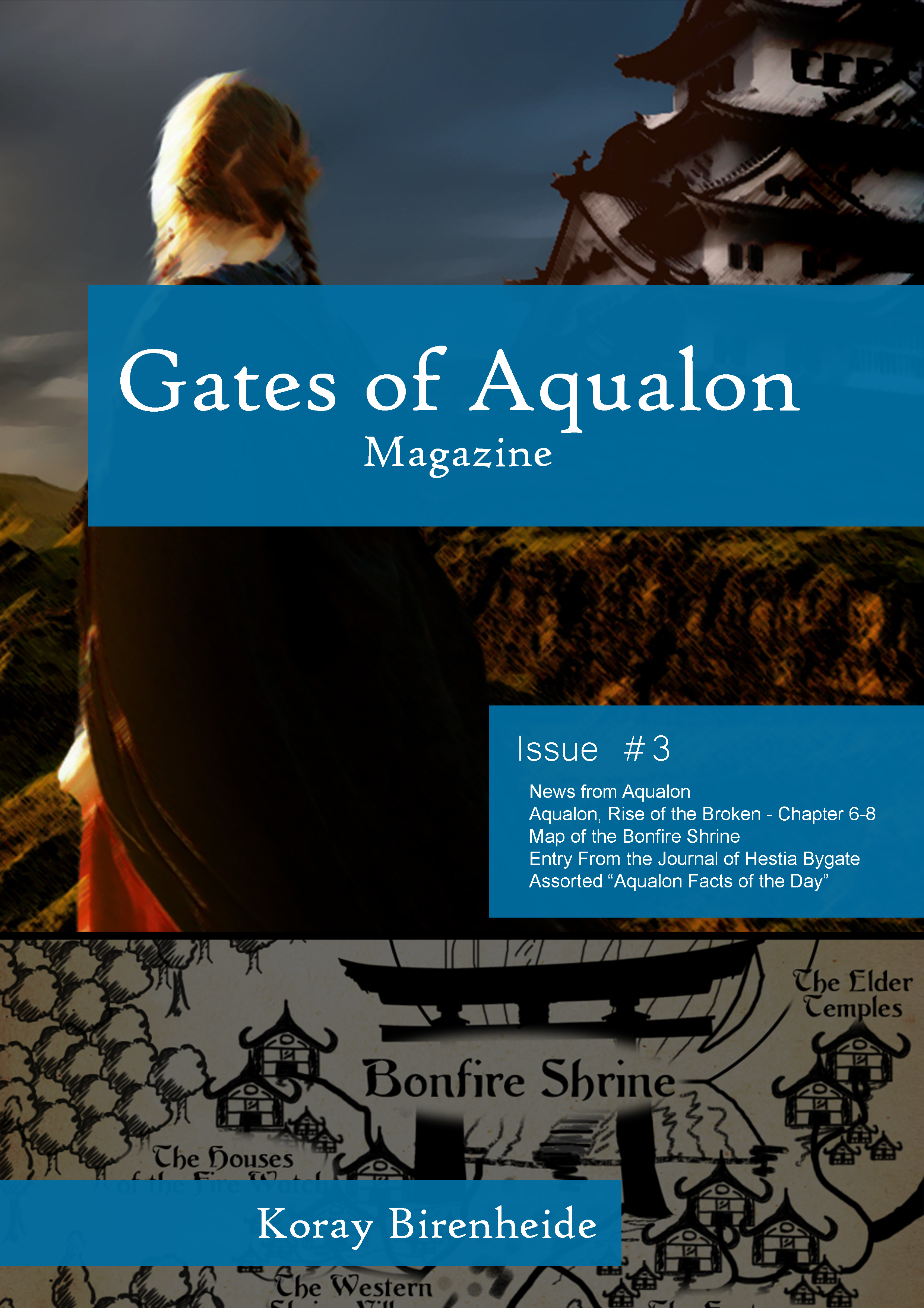 Gates of Aqualon, the Magazine -  Issue #3