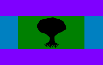 Flag of the Evergreens