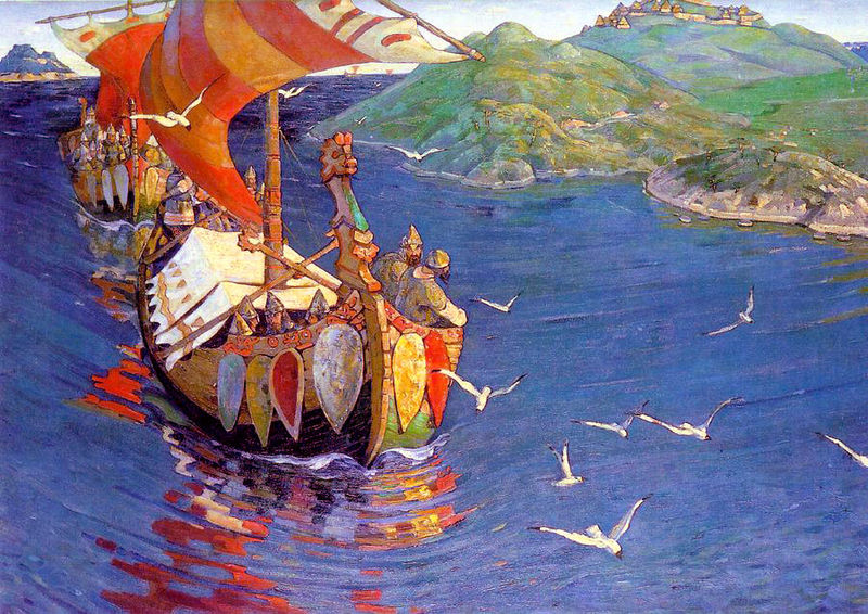 800px-Nicholas_Roerich,_Guests_from_Overseas_(corrected_colour).jpg