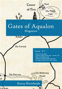 Gates of Aqualon, the Magazine -  Issue #1