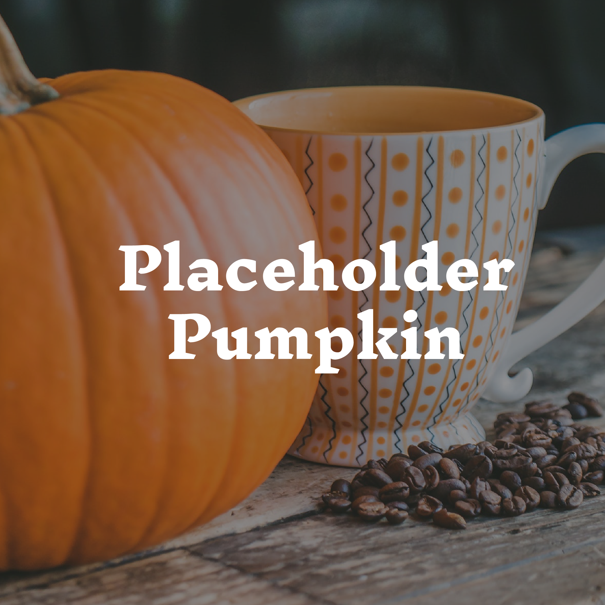 Placeholder Pumpkin