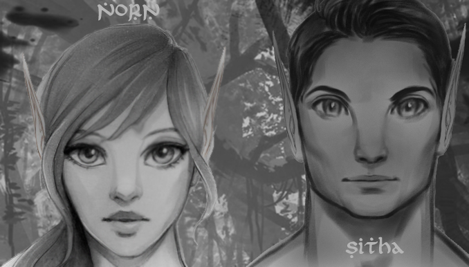Norn woman and Sitha man