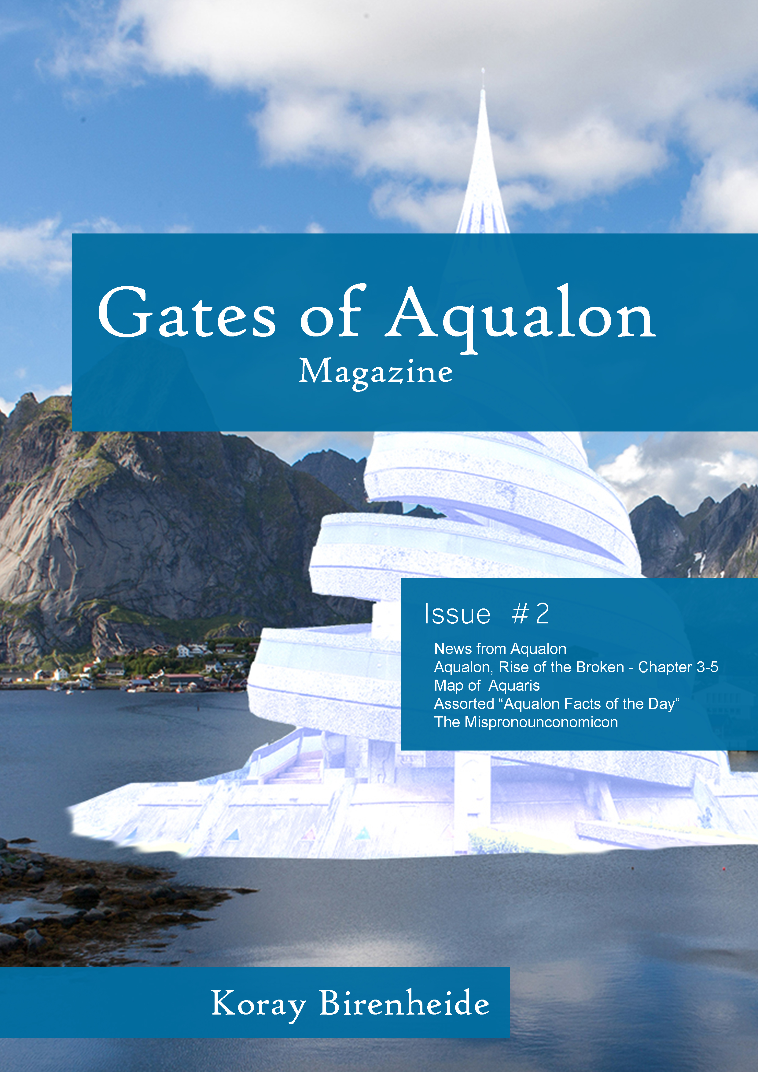 Gates of Aqualon, the Magazine -  Issue #2