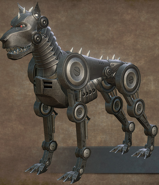 Clockwork Hound