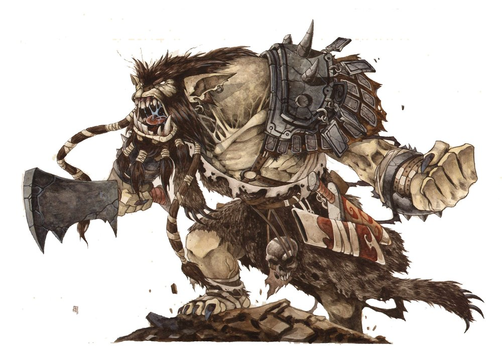 Bugbear Barbarian | World Anvil