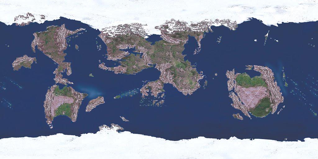 Toril World Map in Faerun| World Anvil