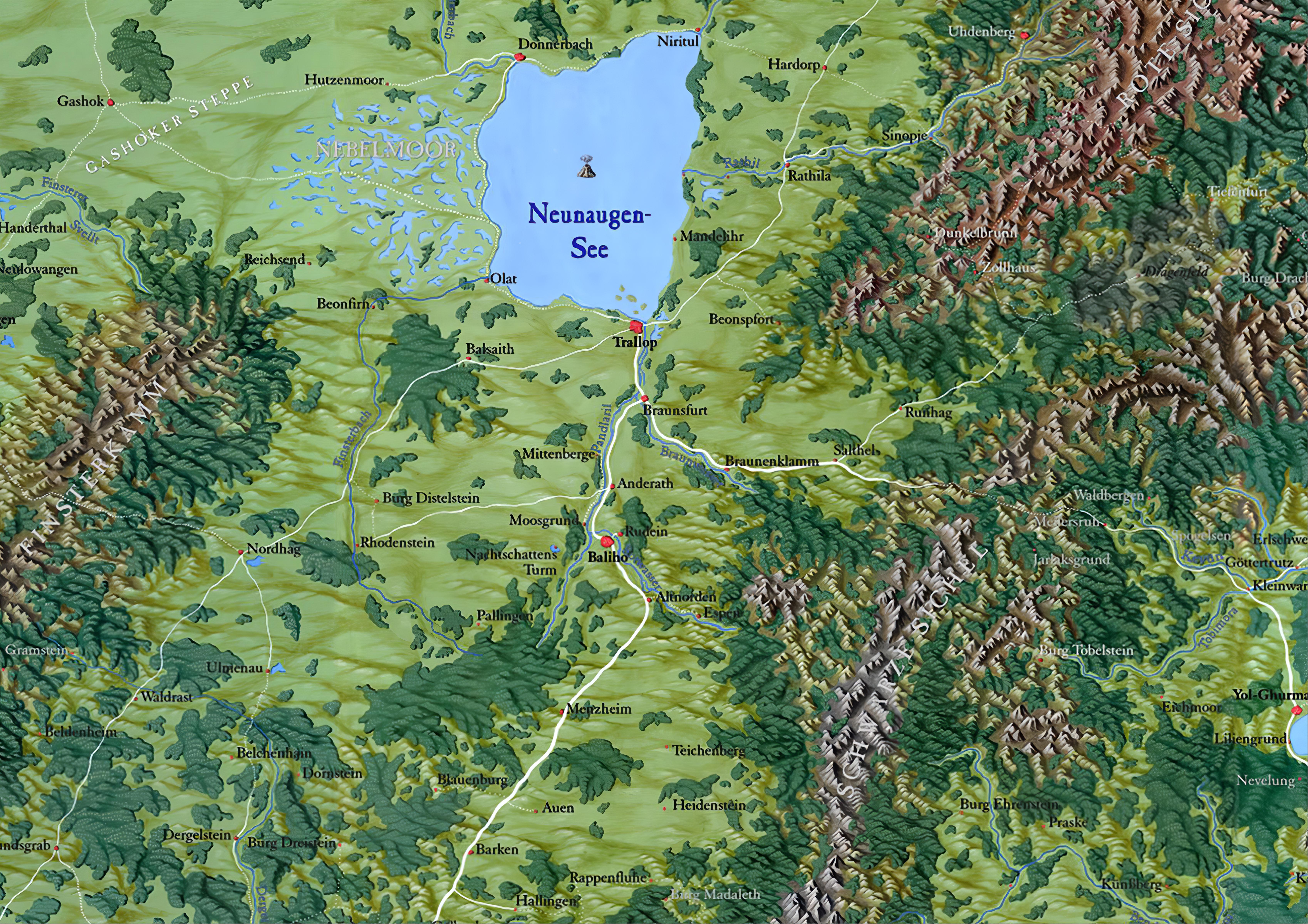 Dsa Karte.Karte Herzogtum Weiden V2 World Anvil