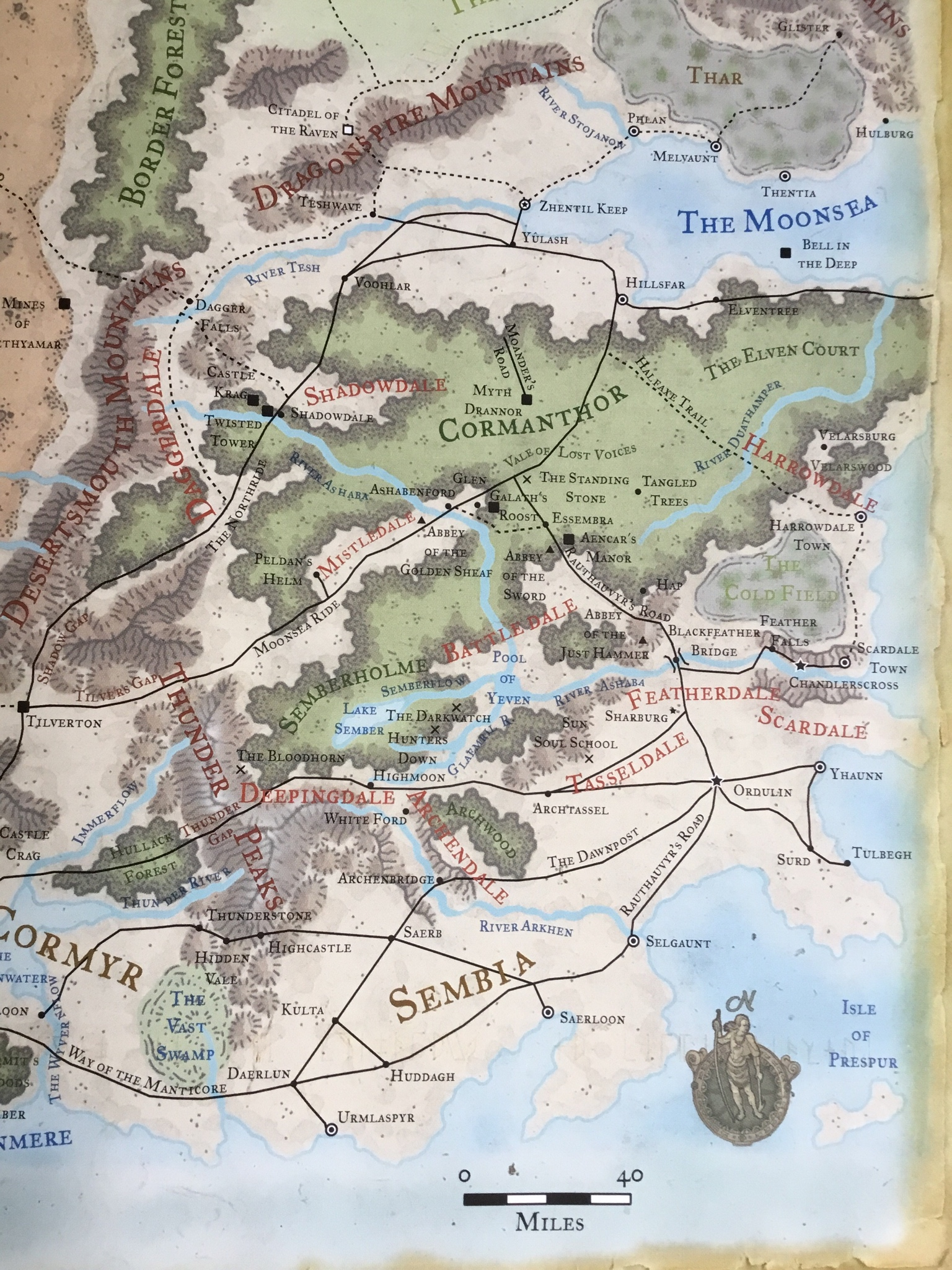 The Dalelands in The Forgotten Realms| World Anvil