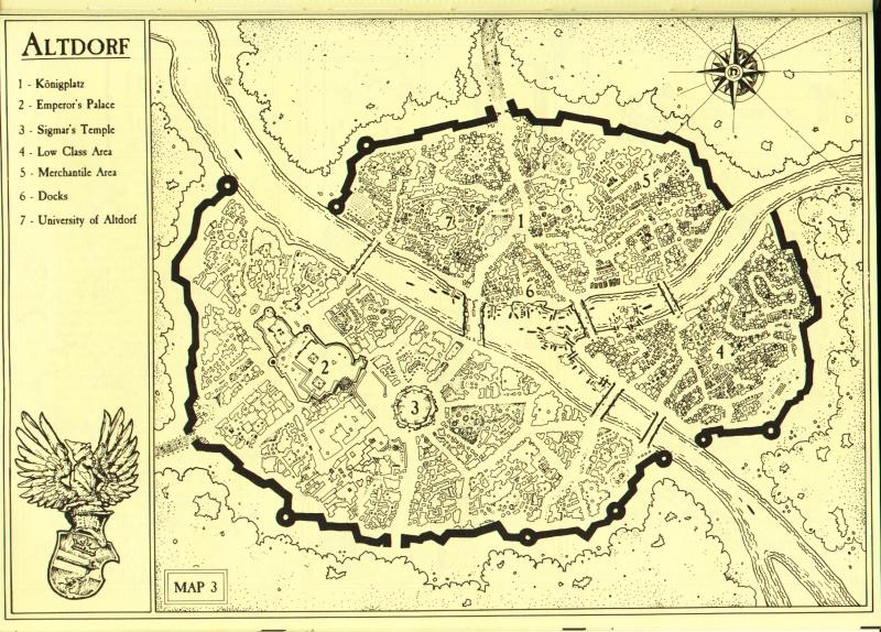 Altdorf in Warhammer| World Anvil